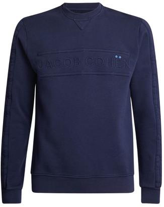 Jacob Cohen Tonal Logo Sweatshirt