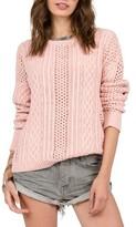 Volcom Women's Mess Round Crewneck Sweater