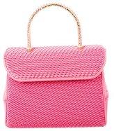 Judith Leiber Satin Embellished Evening Bag
