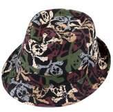 HDE Kid's Short Brim Trilby Fedora Hat