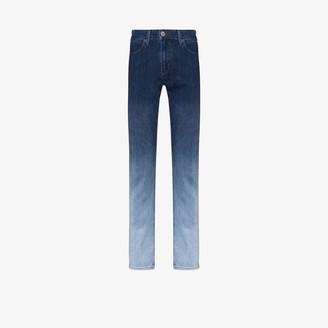 Paige Lennox ombre-effect slim-leg jeans