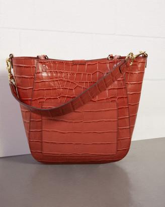 Jigsaw Leather Warwick Tote Bag