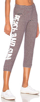 Lauren Moshi Alana Solid Beach & Sun Sweatpant in Navy. - size S (also in XS)
