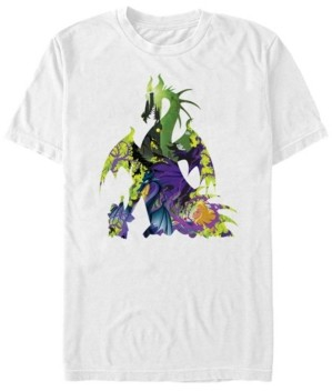 Disney Men's Sleeping Beauty Maleficent Dragon, Short Sleeve T-Shirt