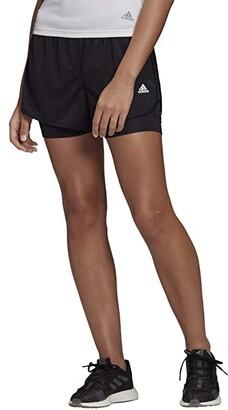 adidas M20 2-in-1 Shorts (Black) Women's Clothing