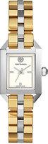 Tory Burch Women's Swiss Dalloway Two-Tone Stainless Steel Bracelet Watch 23x36mm TB1102
