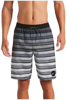 Nike 9 6:1 Stripe Breaker Volley Shorts (Black) Men's Swimwear
