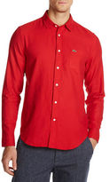 Lacoste Solid Button-Down Shirt