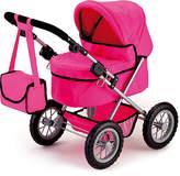 Bayer Trendy Dolls Pram - Pink