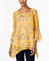 Style&Co. Style & Co Floral-Print Blouse, Only at Macy's