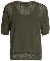 DSQUARED2 Crochet Mesh Illusion Shirt