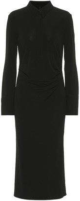 Helmut Lang Draped shirt dress