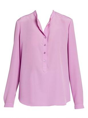 Stella McCartney Silk Crepe De Chine Tunic Blouse