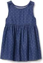 Gap Dotty denim tank dress