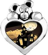 GiftJewelryShop scary Halloween haunted house Topaz Crystal November Birthstone I Love You Heart Care Bear Charm