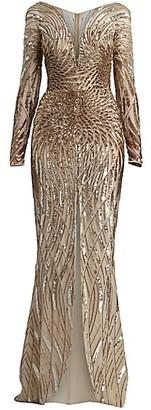 ZUHAIR MURAD Salamanaco Embellished Gown