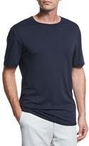 Vince Reverse-Hem Crewneck T-Shirt