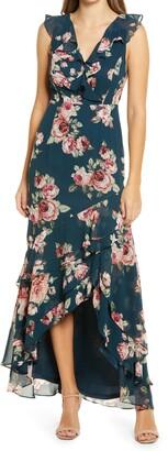 Lulus Secret Romance High/Low Dress