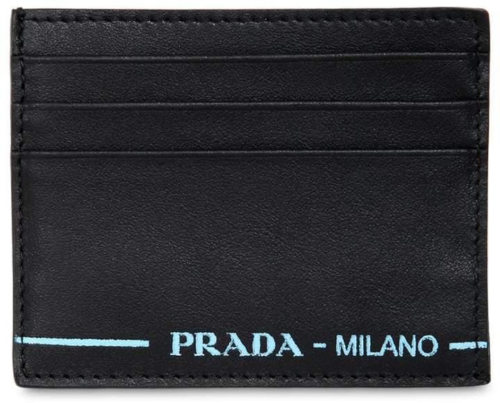 61366bf14f6490 Mens Prada Card Wallet - ShopStyle