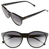 Loewe 'Lips' 55mm Keyhole Sunglasses