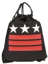 Givenchy Black Stars&stripes Drawstring Backpack