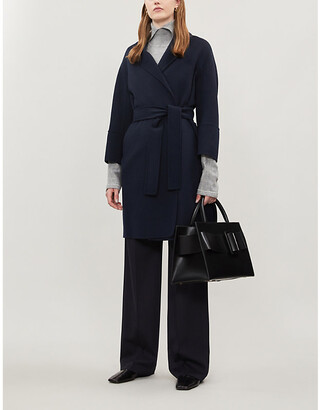 Max Mara S Arona single-breasted wool coat
