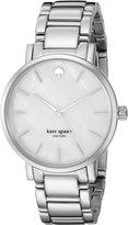 Kate Spade Women's Gramercy 1YRU0001 Silver Stainless-Steel Quartz Watch