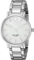 Kate Spade Women's Gramercy 1YRU0001 Stainless-Steel Quartz Watch