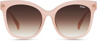 Quay Its My Way 61mm Gradient Cat Eye Sunglasses