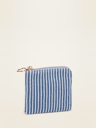 Old Navy Printed Canvas Wallet for Women