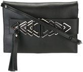 Elena Ghisellini arrow detail shoulder bag - women - Calf Leather - One Size