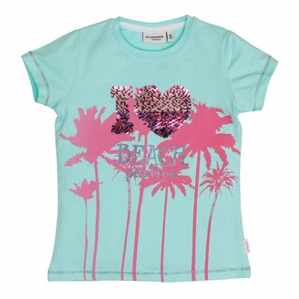 Salt&Pepper Salt and Pepper Girls' T-Shirt Sunshine uni Glitter