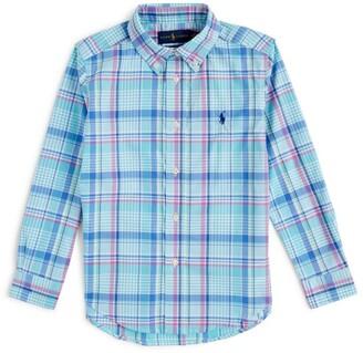 Ralph Lauren Kids Long-Sleeved Check Shirt (2-4 Years)