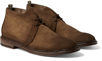 Officine Creative Hopkins Burnished-Suede Chukka Boots
