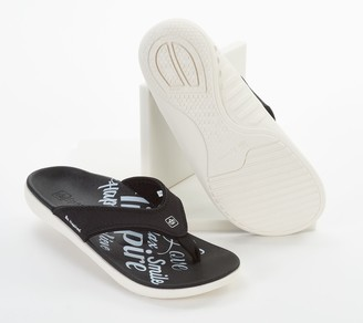 Spenco Orthotic Thong Sandals - Yumi Inspiration