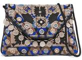 Antik Batik Khana Embroidered Cotton Pouch
