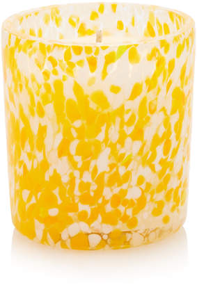 Murano Wave Glass Orange Blossom Scented Candle, 450g
