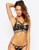 Asos Joni Extreme Strappy Lace Underwire Bra