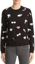 Eleven Paris Graphic Print Sweatshirt