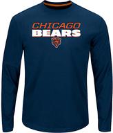 Chicago Bears Logo Long-Sleeve Tee - Men's Big & Tall