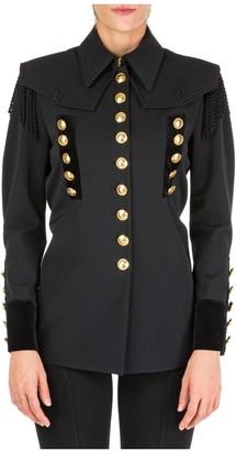 Alberta Ferretti Military Blazer