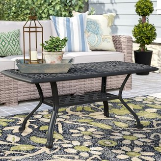 Kristy Metal Coffee Table Darby Home Co