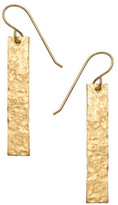 Heather Hawkins Hammered Bar Thread Thru Earrings 7006621959