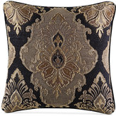 "J Queen New York Bradshaw Black 20"" x 20"" Decorative Pillow"