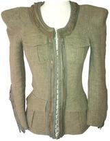 Balmain Khaki Cotton Jacket