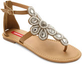 UNIONBAY Union Bay Daisy Embellished Flat Sandals