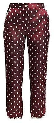 Rag & Bone Women's Emery Polka Dot Pants