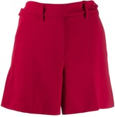 RED Valentino side buttoned fastening shorts
