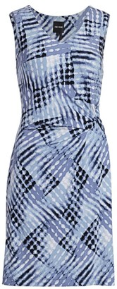 NIC+ZOE, Petites Petite Crossover Twist Sheath Dress
