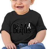 FF Fashion-S Baby Unisex Hey Beatles Yesterday Infant Short Sleeve T-shirt (6-24 M)